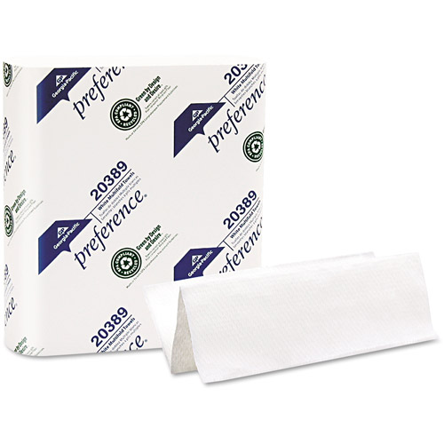 Georgia Pacific Paper Towel, Multi-Fold White Hand Towel, 250 sheets, 16 ct