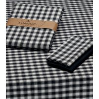 """Design Imports French Check Kitchen Tablecloth, 52""""x52\ by Dii"""