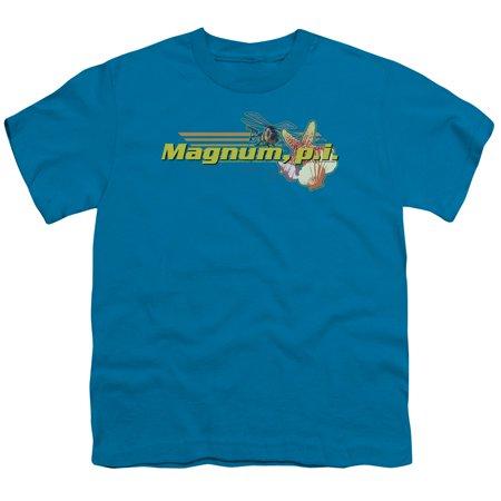 Magnum Pi/Hawaiian Life   S/S Youth 18/1   Turquoise     Nbc204