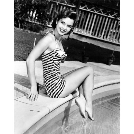 Debbie Reynolds Poolside Canvas Art -  (16 x 20)](Poolside Decorations)