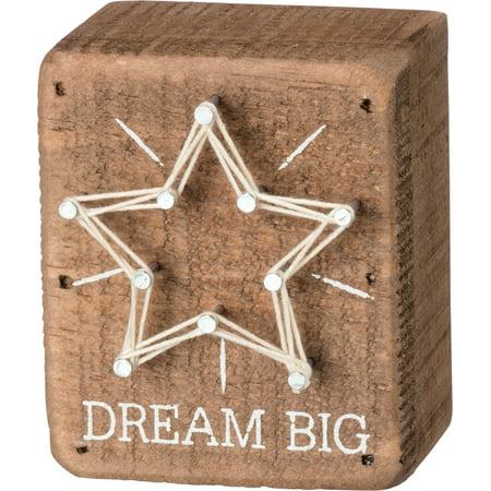 Dreams Box - String Box Sign - Dream Big