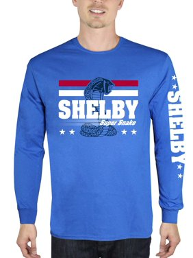 Product Image Shelby Super Snake Men s Long Sleeve Graphic T-Shirt fd190ac6b5bc