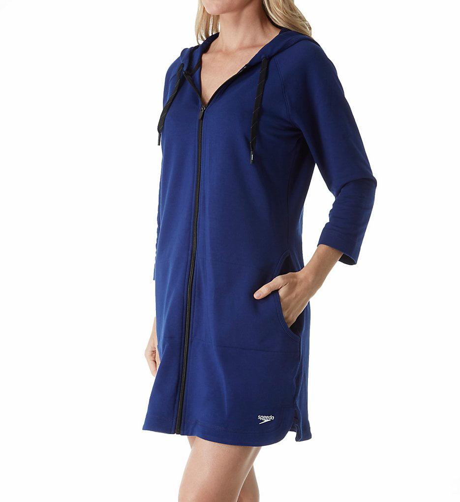 Women s Speedo 7237139 Aquatic Fitness Robe with Hood - Walmart.com d539b7455