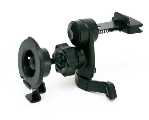 IG-A07+BKT2013: i.Trek Garmin vent mount with metal spring clip for