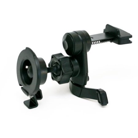 IG-A07+BKT2013: i.Trek Garmin vent mount with metal spring clip for