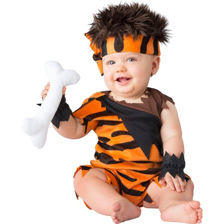 Baby Caveman Cutie Halloween Costume](Baby Makeup For Halloween Costume)