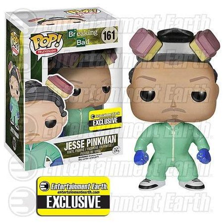 Breaking Bad Pop! Vinyl Figure Jesse Pinkman [Green Cook Outfit] Entertainment Earth Exclusive - Jesse Pinkman Halloween