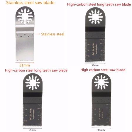 100Pcs Oscillating Multi oscillatingtool Tool Saw Blades Accessories kit - image 3 of 11