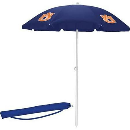 Picnic Time 822-00-138-044-0 Auburn University Tigers Digital Print Beach Umbrella, Navy - image 2 de 2