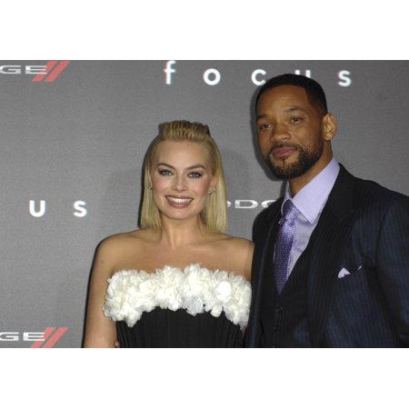 Will Smith Margot Robbie At Arrivals For Focus Premiere Tcl Chinese 6 Theatres Los Angeles Ca February 24 2015 Photo By Elizabeth GoodenoughEverett Collection (Focus Smith)