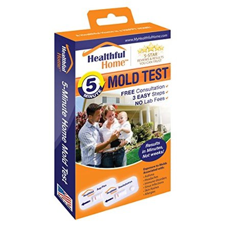 Mold Test Kits (Healthful Home 5-Minute Mold)