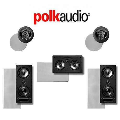 Polk Audio 265LS 5.0 Vanishing Series In-Wall   In-Ceiling Home Theater System (265-LS + 255C-RT + 90-RT) by Polk Audio