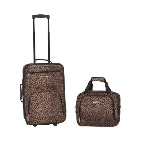 Rockland Luggage Rio SoftSide 2-Piece Carry-On Luggage