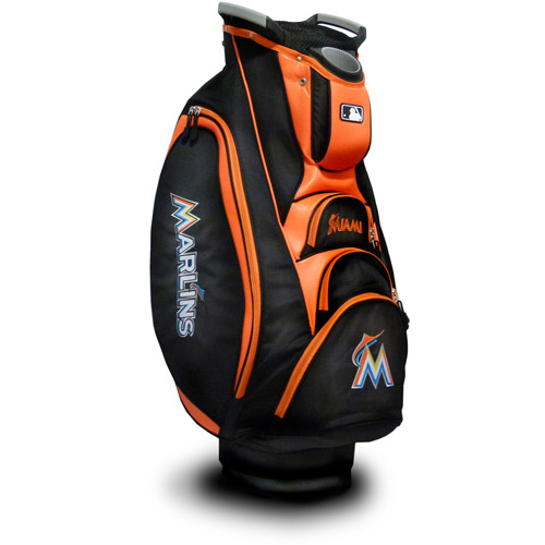 Team Golf MLB Miami Marlins Victory Golf Cart Bag