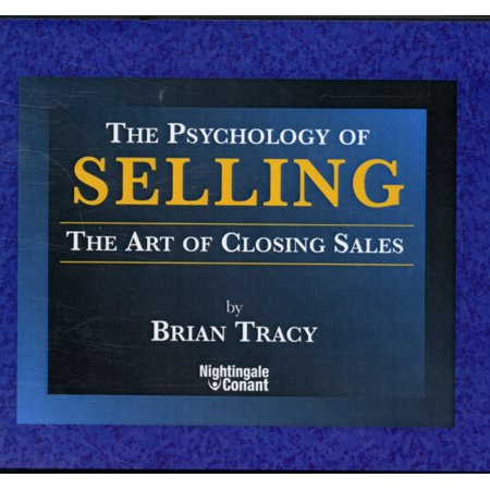 - The Psychology of Selling by Brian Tracy (Nightingale Conant) (Audio CD)