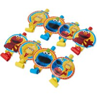 Sesame Street Party Favor Blowers, 8ct