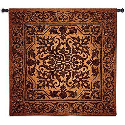 Iron Work Wall Tapestry - 53W x 53H in.