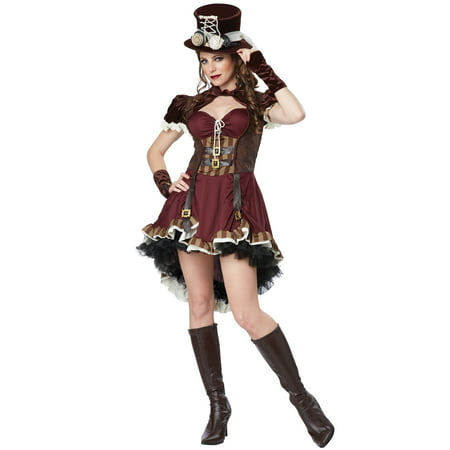 Female Steampunk Outfits (Steampunk Girl - Adult)