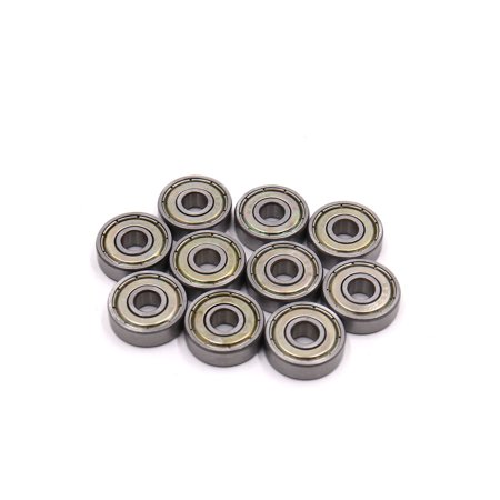 10 Pcs 626Z 6 x 19 x 6mm Double Shielded Deep Groove Radial Ball Bearing (Motorcycle Bearing)