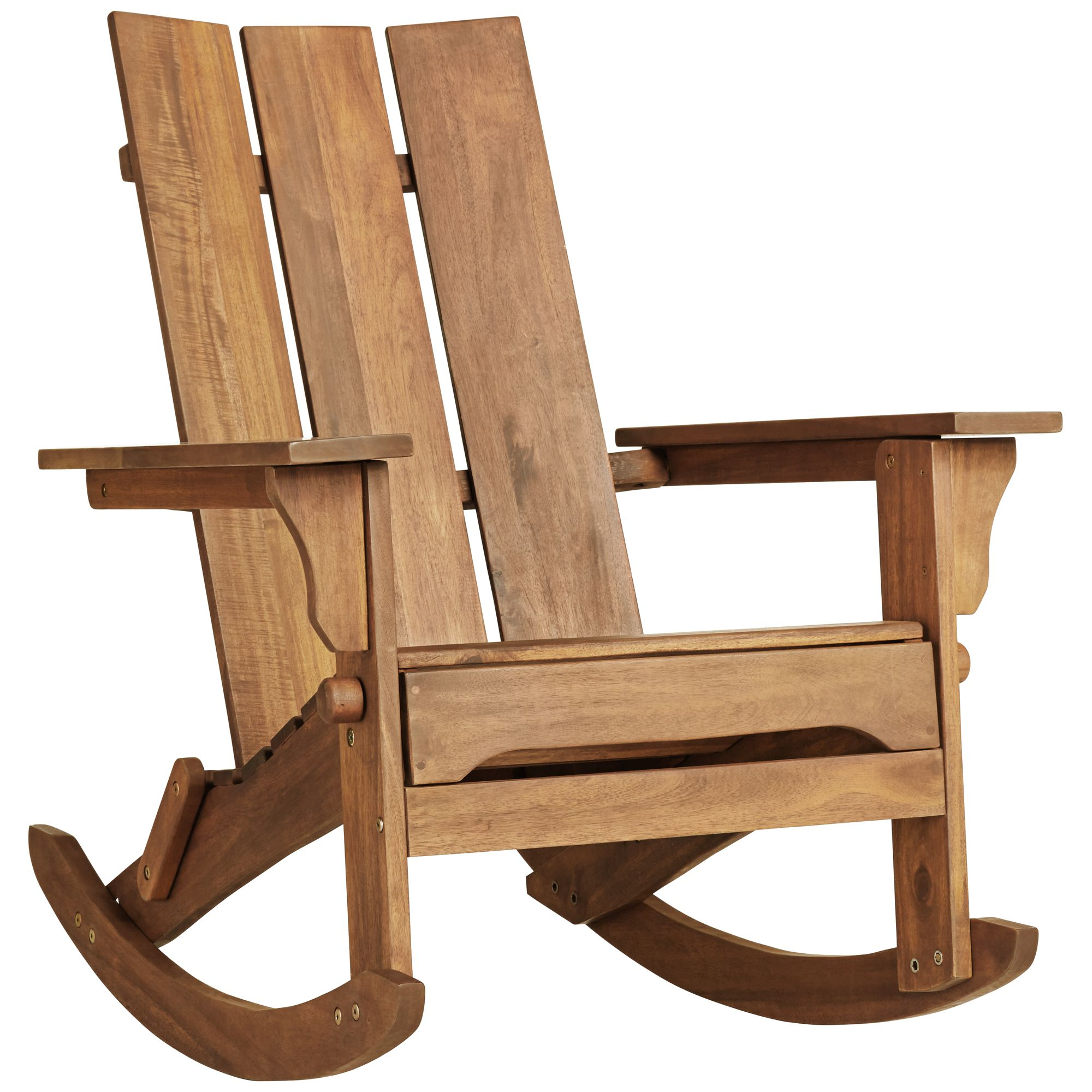 Teal Island Designs Modern Adirondack Rocking Chair