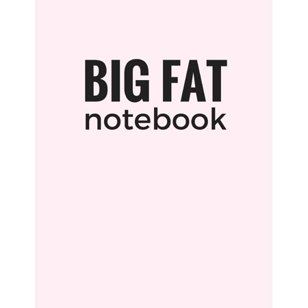 Lavender Neoprene Notebook - Big Fat Notebook (600 Pages): Lavender Blush, Extra Large Ruled Blank Notebook, Journal, Diary (8.5 X 11 Inches) (Paperback)