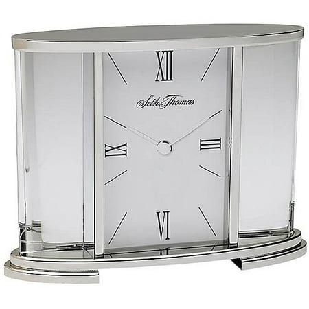 Seth Thomas Radio (Seth Thomas  Silver Glass Carriage Table Clock - N/A)