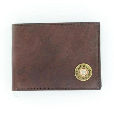 Bifold Passcase Shotgun Shell Western Mens Wallet - image 1 of 1