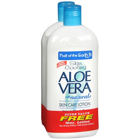 Fruit of the Earth Aloe Vera Skin Care Lotion - 16 (Aloe Vera For Skin Whitening In Tamil)