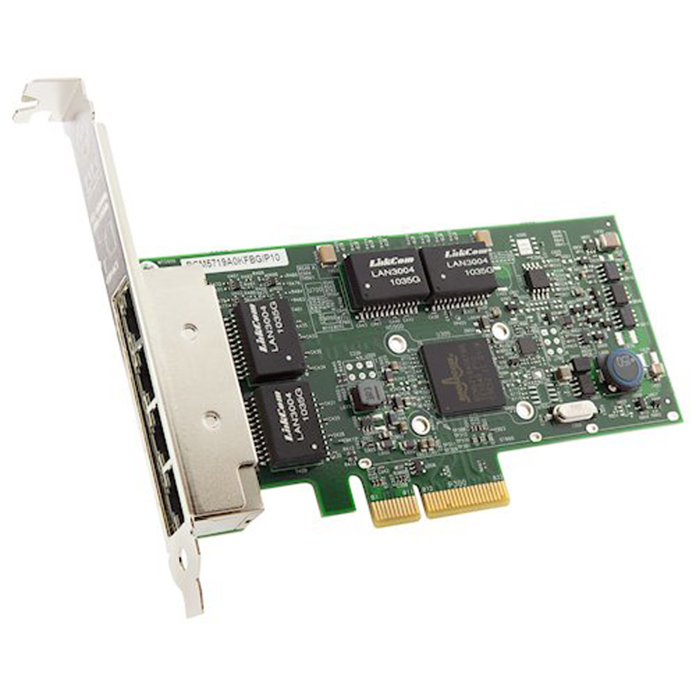 Lenovo Broadcom NetXtreme PCIe 1Gb 4-Port RJ45 Ethernet Adapter