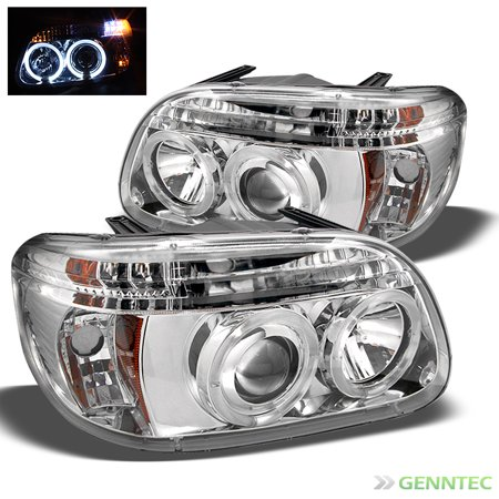 - For 1995-2001 Ford Explorer Twin Halo LED Pro Headlights Head Lights Lamp  Pair Left+Right 1996 1997 1998 1999 2000