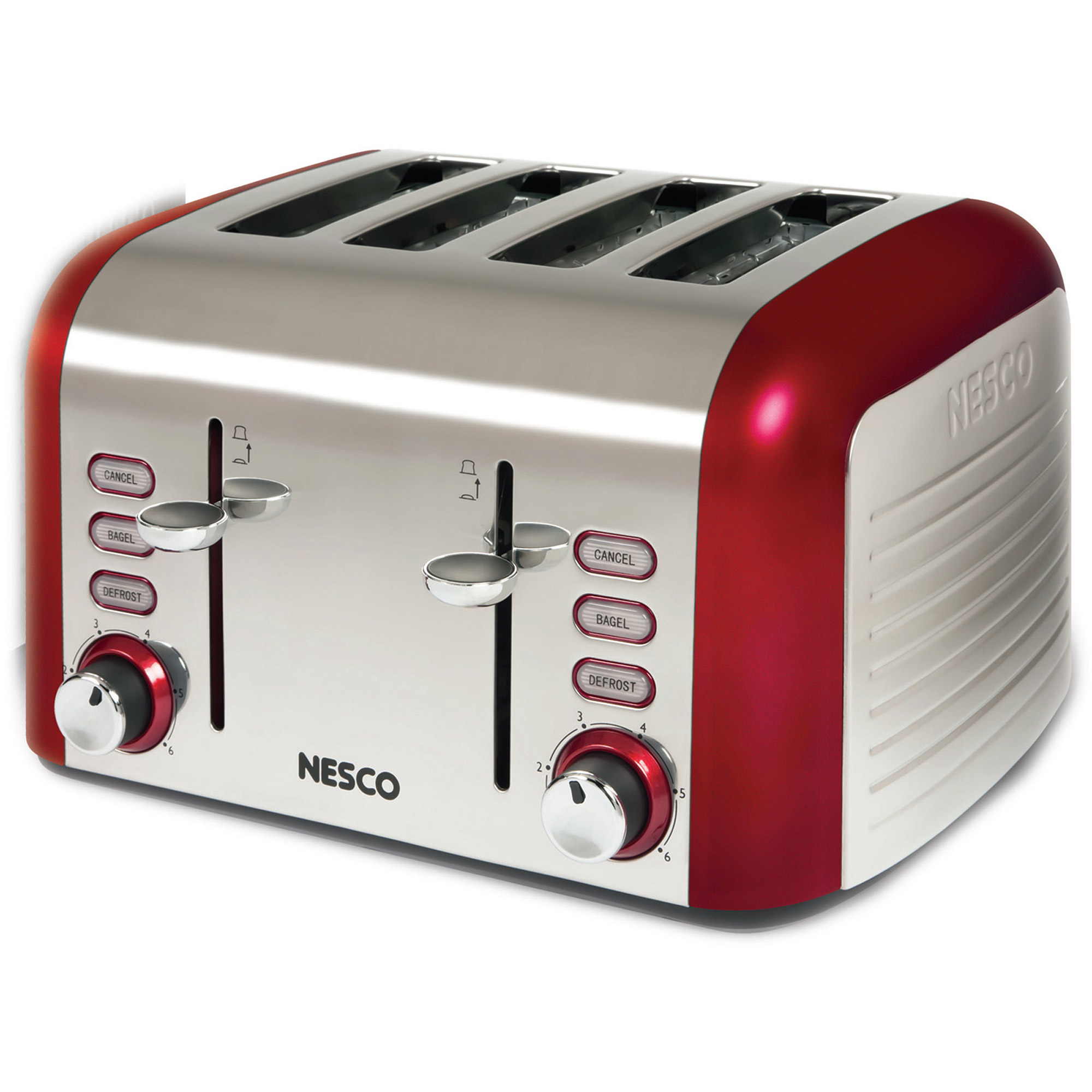 Nesco 4-Slice Stainless Steel Toaster