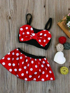 Lookwoild Summer Baby Girl Kid Bathing Suit Swimwear Bikini Set Tankini Swimsuit