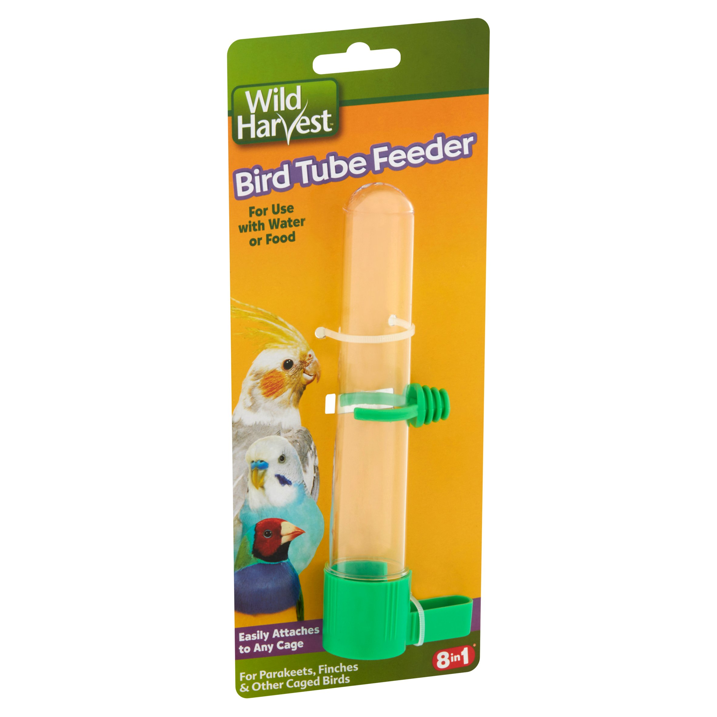 Wild Harvest Bird Tube Feeder for Water or Food, 1-Count - Walmart.com