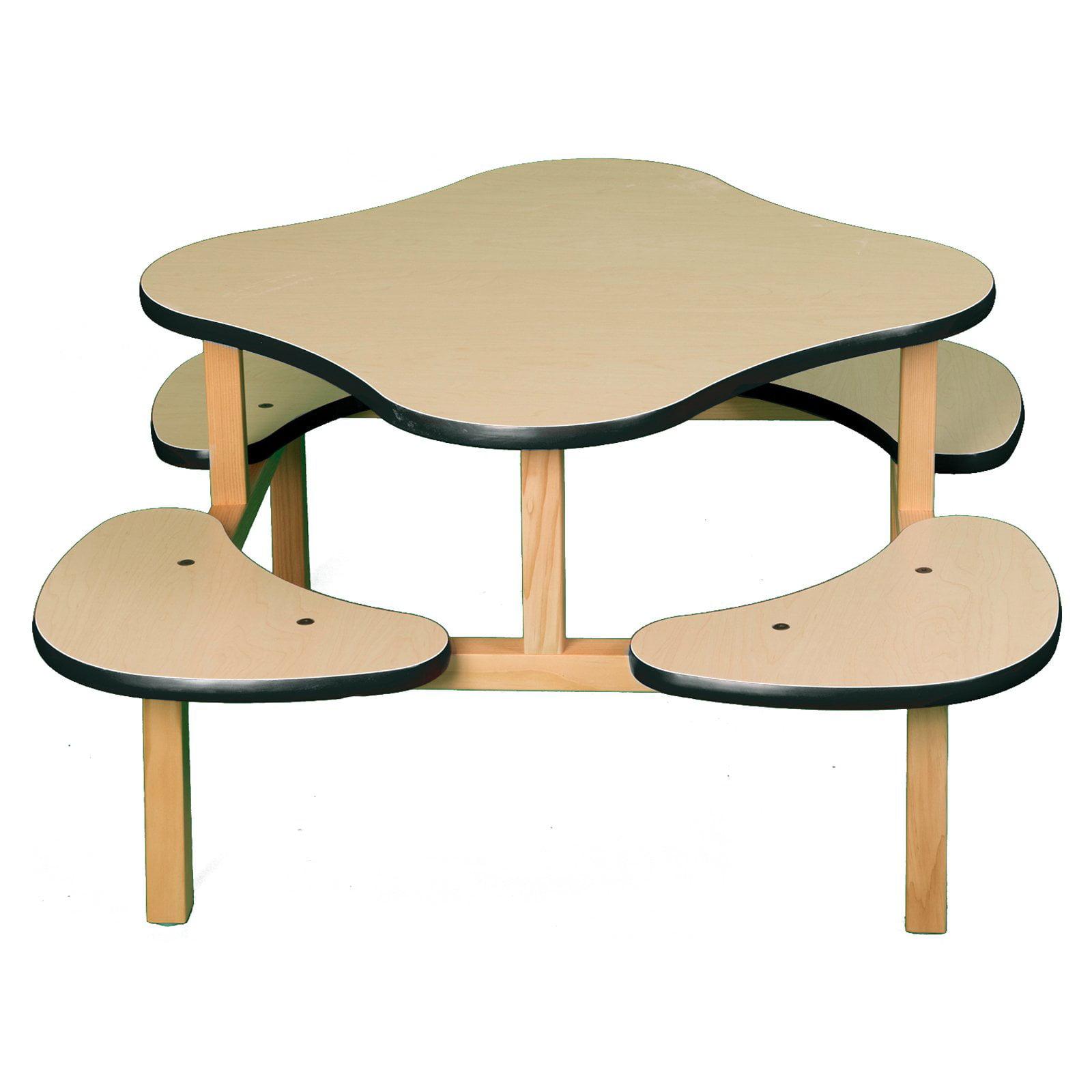 Wild Zoo Play Table - Maple