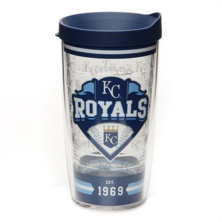 Kansas City Royals Tervis 16oz. Classic Wrap Tumbler with Lid - No Size (Tervis Wrap)