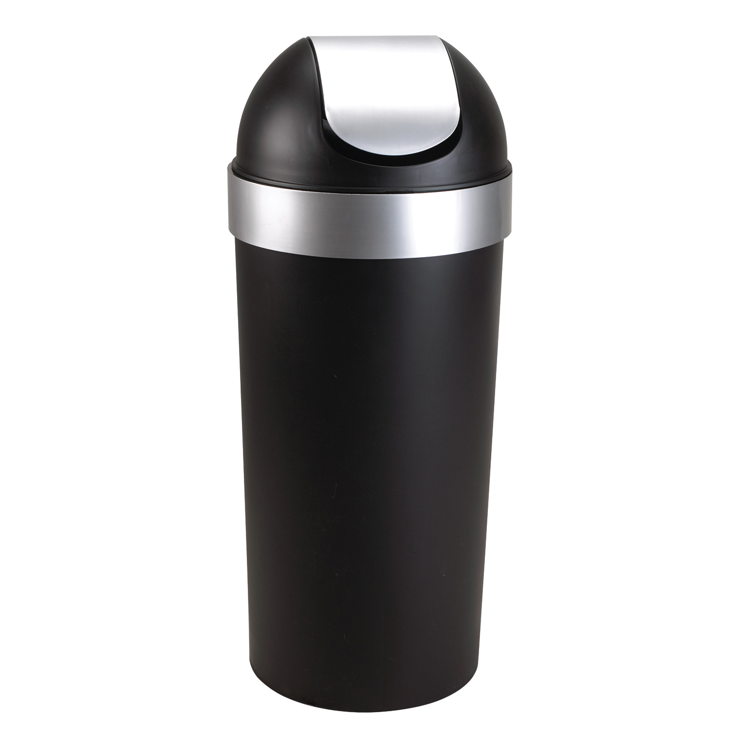 Umbra Venti 16-Gallon Swing Top Kitchen Trash Can � Large, 35-inch Tall Garbage Can for... by Umbra