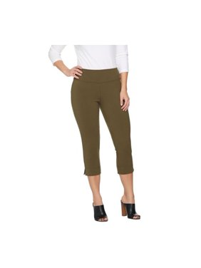 ce6091bd437e4 Product Image Wicked by Women with Control Petite Pull-on Capri Pants