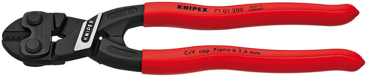 KNIPEX Tools 71 01 200 CoBolt High Leverage Compact Bolt Cutters by KNIPEX Tools