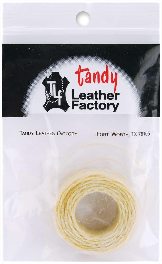 25yd 25yd Black Linen Waxed Thread