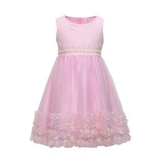 Fancy Girls Dresses (Kids Girls Lace Decorated Fancy Party)