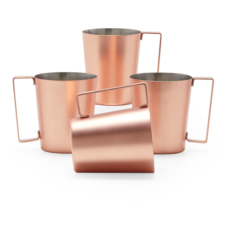 MoDRN Industrial Copper Plated Moscow Mule 4 Piece Set