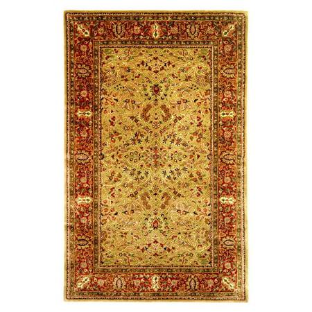 - Safavieh Persian Legend Leone Hand-Tufted New Zealand Wool Area Rug