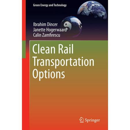 Rail Transportation Set - Clean Rail Transportation Options - eBook