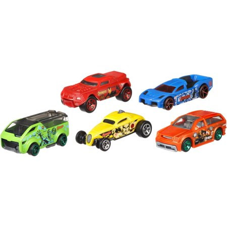 Hot Wheels Marvel Avengers Vehicle 5-Pack