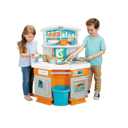 Little Tikes Home Grown Kitchen Set - Role Play Realistic Kid Playset