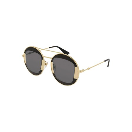 604f93d1588 Gucci Gg 0105 S- 006 Silver Grey Gold Sunglasses - image 1 of 1 ...