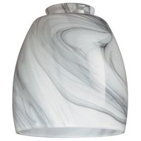 2.25 in. Charcoal Swirl Lamp Shade - Pack of 4