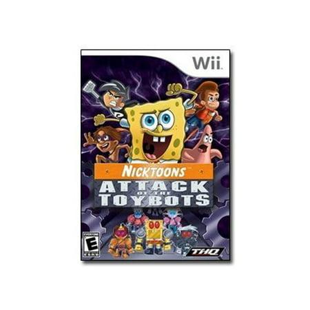 Nicktoons: Attack of Toybots (Wii)