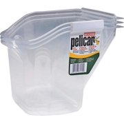 Pelican 8629 Hand Held Pail Liner, 1 qt, Recycled Pet, For Use With Model 8619 Pelican Pail