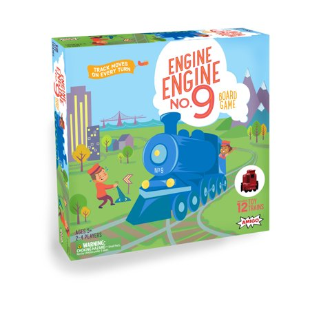 Engine, Engine No. 9 Kids Game with 12 Toy Trains